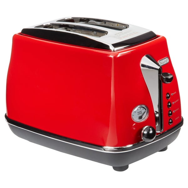 DeLonghi CTO2003R Red Double-slice Toaster