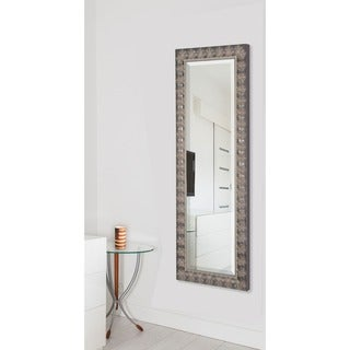 American Made Rayne Mahogany Feathered 27 x 65-inch Full Body Mirror