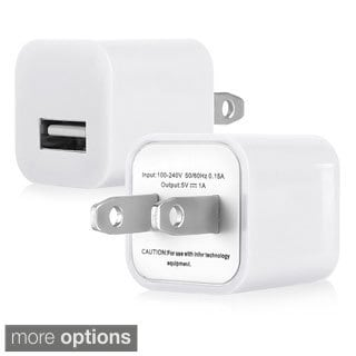 INSTEN 1A Universal USB Mini Colourful Travel Charger for Apple iPhone 4S/ 5S/ 6