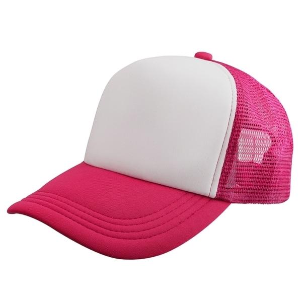 Zodaca Fashionable Free Size/ Adjustable Two Tones Baseball Mesh Trucker Hat