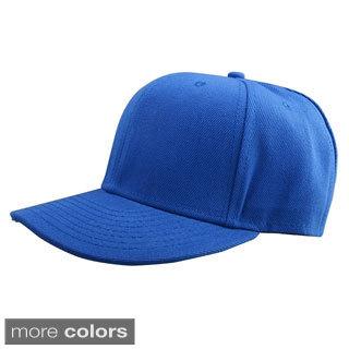 Zodaca Fashionable Free Size/ Adjustable Plain Hip Hop Hat
