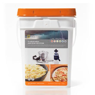 National Geographic Live Prepared 72 Hour Meal and Gear Solution Kit