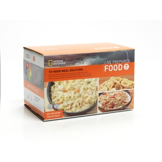 National Geographic Live Prepared 72 Hour 1-person Meal Solution Box