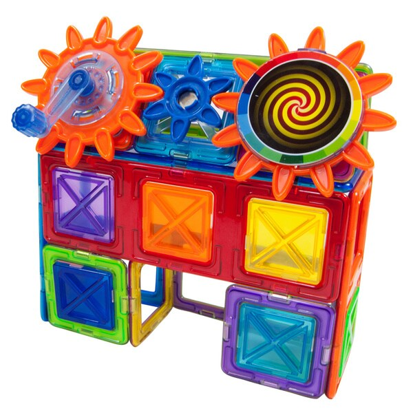 Magformers Magnets in Motion 37-piece Gear Set
