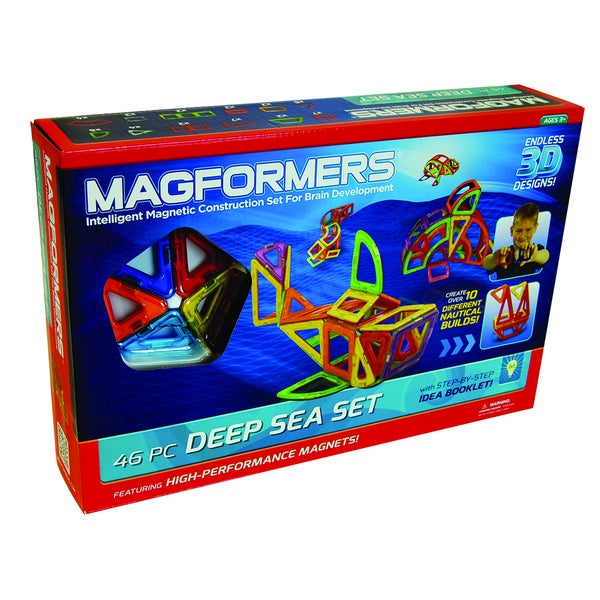 Magformers Deep Sea Set