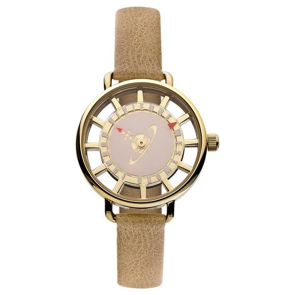 Vivienne Westwood Women's VV055PKTN Tate Beige Watch