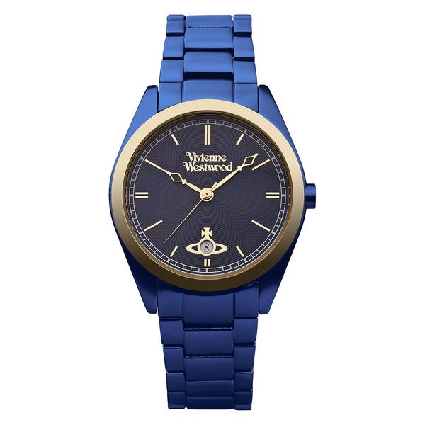 Vivienne Westwood Women's VV049NVNV St. James Navy Blue Watch