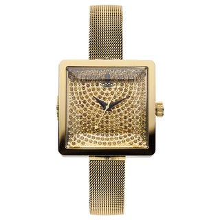 Vivienne Westwood Women's VV053GDGD Cube Womens Goldtone Watch
