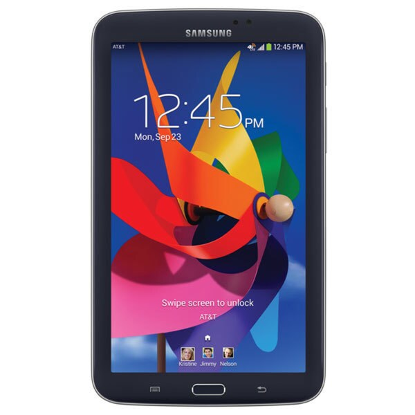 Samsung Galaxy Tab 3 7-inch Black AT&T 1.2GHz 1GB 8GB Android 4.1 Tablet