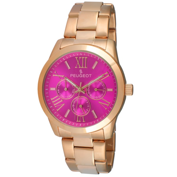 Pink Colour Watches For Girls