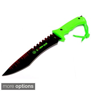 Defender Zombie-War 13-inch Stainless Steel Hunting Knife
