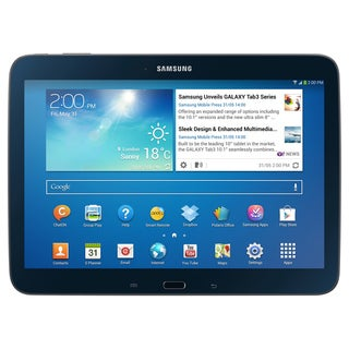 Samsung Galaxy Tab 3 10.1 inch WiFi 16GB Black Tablet