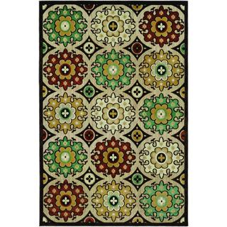 Couristan Urbane Dumont Brown/ Multi Rug (8'7 x 13')
