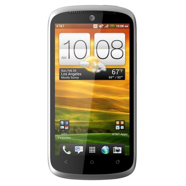 HTC One VX 8GB AT&T 4G LTE Unlocked GSM Android Cell Phone - Grey/Red (Refurbished)
