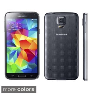 Samsung Galaxy S5 G900H 16GB Unlocked GSM Octa-Core Android Phone - Black Refurbished)
