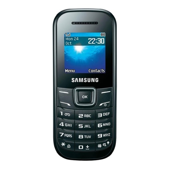 Samsung Keystone 2 E1205 Unlocked GSM Extreme Durability Cell Phone - Black (Refurbished)