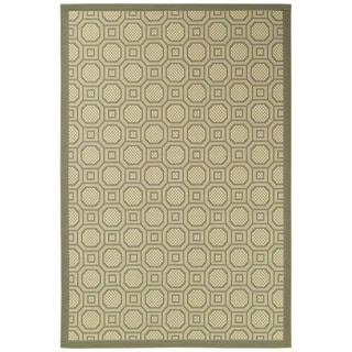 Couristan Five Seasons 3099/ 2245 Sausalito/ Beige Rug (5'10 x 9'2)