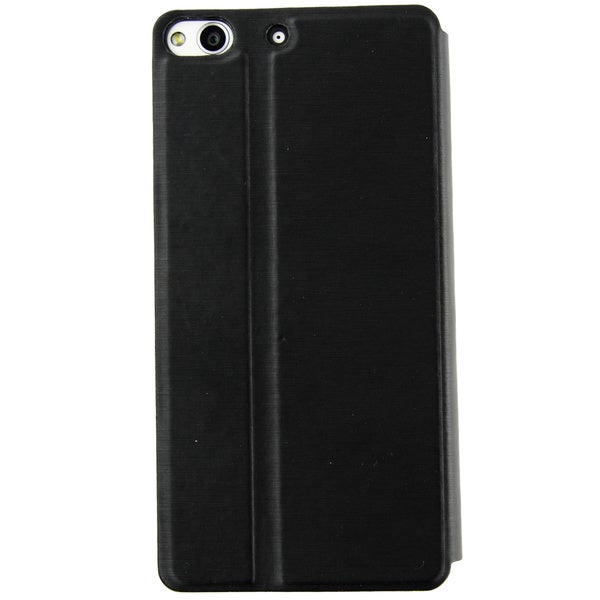 BLU Life Pure Protective Smart Stand / Flip Shell Case - Black
