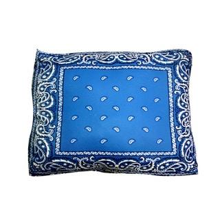 Dogzzzz Bandana Blue Rectangular Dog Bed