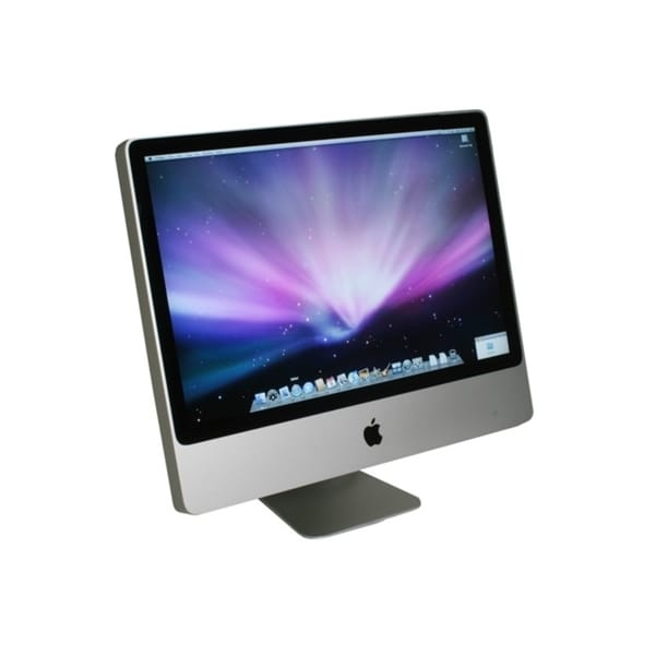 Apple iMac 24-inch Core 2 Duo 4GB-RAM 640GB-HD Mavericks 10.9 All-in-One Desktop Computer (Refurbished)