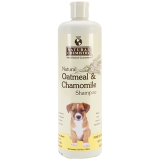 Natural Oatmeal & Chamomile Dog Shampoo (16.9 oz)