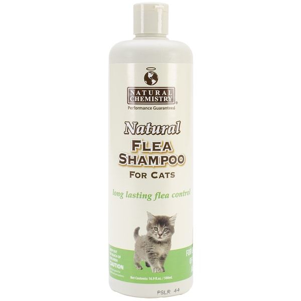 Natural Flea Shampoo For Cats 16.9oz