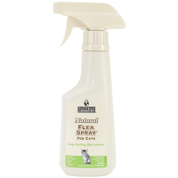 Natural Flea Spray For Cats 8oz