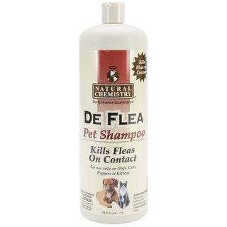 DeFlea 33.8-ounce Shampoo for Dogs and Cats