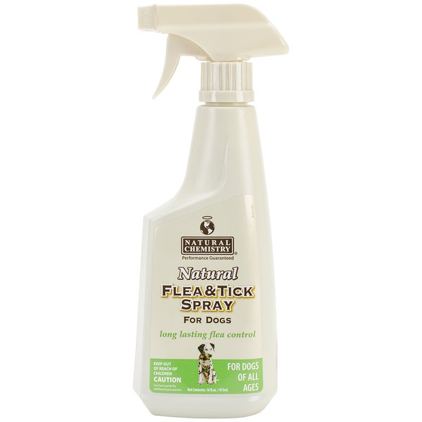 Natural Flea & Tick Spray For Dogs 16oz