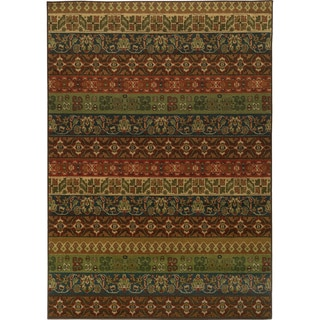 Floral Multicolored Rug (7'10 x 10'10)