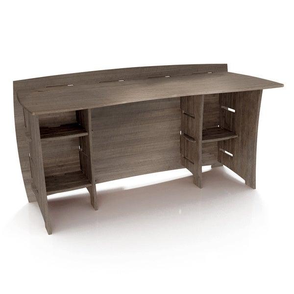 Legare Furniture 60 inch Grey Driftwood Straight Desk