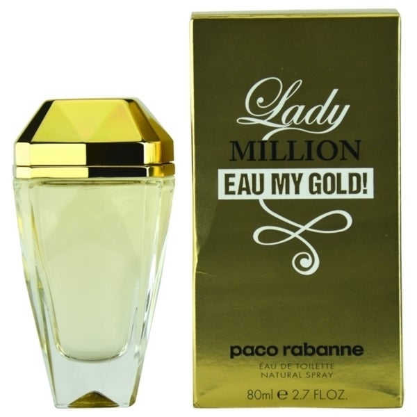 Paco Rabanne Lady Million Eau My Gold Women's 2.7-ounce Eau de Toilette Spray
