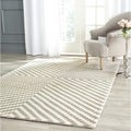 Safavieh Handmade Cambridge Grey/ Ivory Wool Rug (8' x 10')