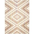 Safavieh Indoor/ Outdoor Havana Natural/ Multi Rug (6'7 x 9'6)