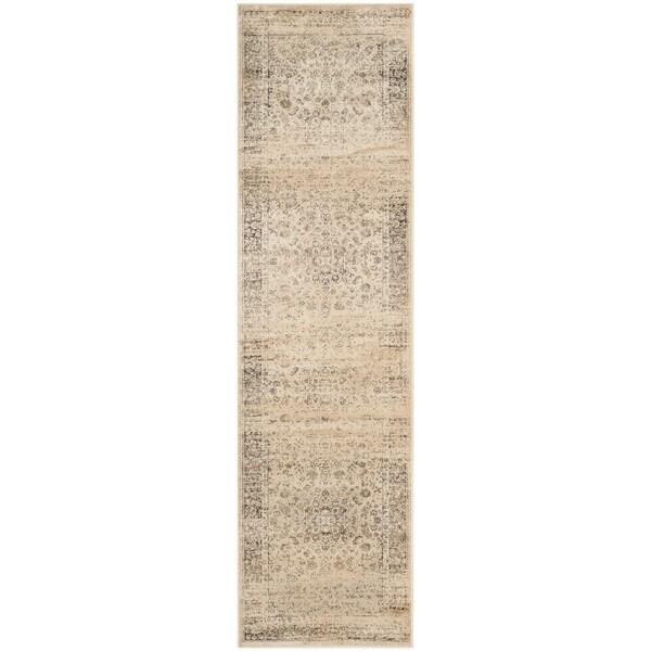 Safavieh Vintage Warm Beige Viscose Rug (2'2 x 16')