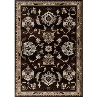 Christopher Knight Home Providence Terrain Transverse Charcoal Area Rug (5' x 7'6)