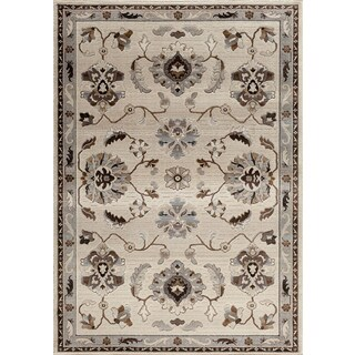 Christopher Knight Home Providence Terrain Transverse Pearl Area Rug (5' x 7'6)