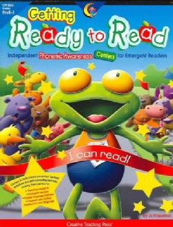 Getting Ready to Read: Independent Phonemic Awareness Centers for Emergent Readers (Paperback)