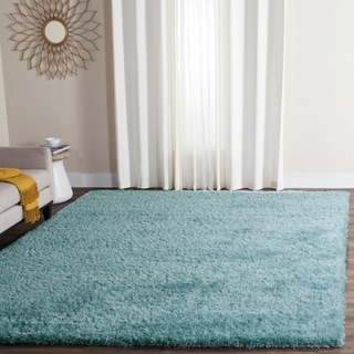 Safavieh Charlotte Shag Light Blue Rug (8' x 10')