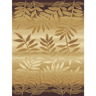 Christopher Knight Home Shadows Mediterranean Raven Brown Area Rug (5'3 x 7'7)