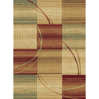 Christopher Knight Home Shadows Mediterranean Carter Multi Area Rug (7'10 x 10'10)