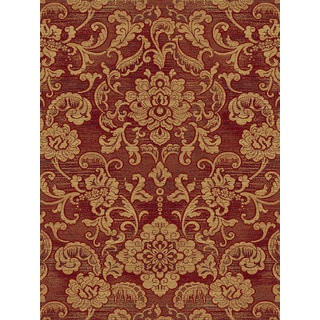 Somette Shadows Mediterranean Londonderry Red Area Rug (7'10 x 10'10)