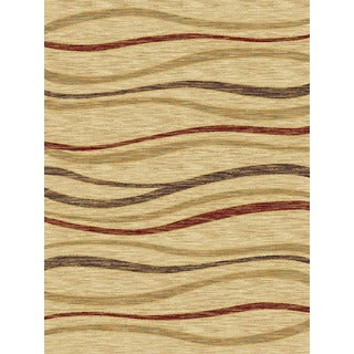 Christopher Knight Home Shadows Mediterranean Mamba Red Area Rug (7'10 x 10'10)