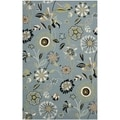 Safavieh Indoor/ Outdoor Four Seasons Blue/ Multi Rug (4' x 6')