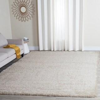 Safavieh Charlotte Shag Ivory / Polyester Rug (8' x 10')