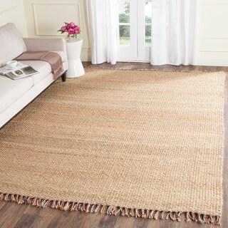 Safavieh Hand-woven Natural Fiber Natural/ Multi Jute Rug (8' x 10')
