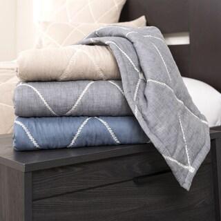 Lush Decor Lattice Geometric Throw Blanket