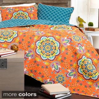 Lush Decor Addington 3-Piece Quilt Set