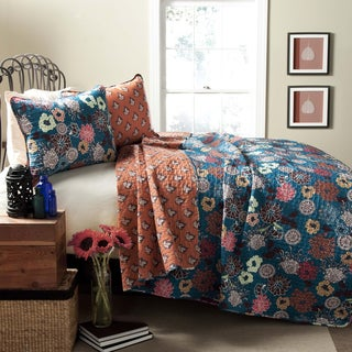 Lush Decor Brady 3-Piece Quilt Set
