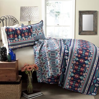 Lush Decor Southwestern 3-Piece Quilt Set